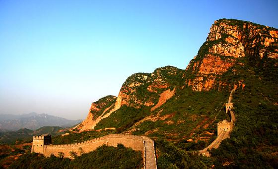 The Great Wall one hundred thousand li alone yellow cliff pass
